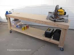 garage workbench printable garage workbench plans 2x42x4 diy