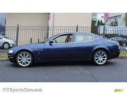 metallic maserati 2005 maserati quattroporte in blu nettuno blue metallic photo 3