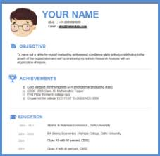 interview resume format for freshers top 35 modern resume templates to impress any employer wisestep