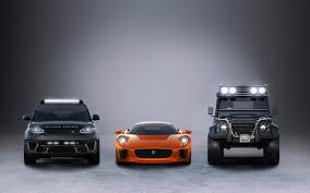 range rover sport concept jaguar c x75 supercar toughened up land rover to star in next