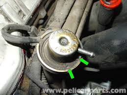 mercedes benz w210 fuel pressure regulator replacement 1996 03