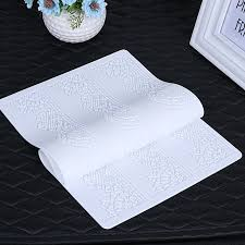silicone baking mat cake lace mold flower pattern fondant molds