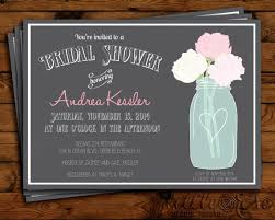 jar bridal shower invitations jar bridal shower invitation bridal shower invite