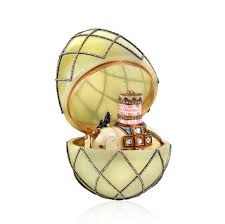 fabergé royal gifts featuring the trellis egg surprise beyondbones