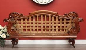 Double Chaise Sofa Lounge by 5250 Antique Australian Cedar Double Ended Chaise Sofa