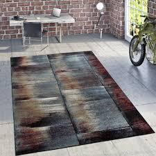 Wohnzimmer M El Beige Designer Teppich Modern Wohnzimmer ölgemälde Abstrakt Rost Optik