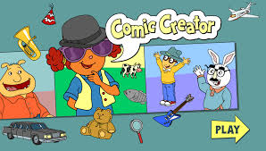 Meme Cartoon Generator - arthur games comic creator pbs kids