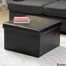 distressed leather ottoman coffee table exterior decorations ideas
