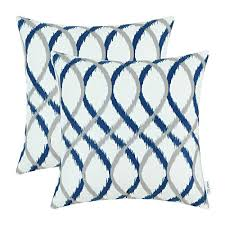 top 5 best throw pillow blue and white for sale 2017 product