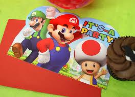 super mario party ideas party delights blog