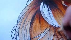 diabolik lovers painting shu u0027s hair colored pencils youtube