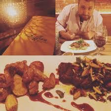 Saffron Mediterranean Kitchen Walla Walla Wa - new york steak with fingerling potatoes and walla walla syrahah