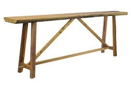 Small Sofa Table by Legacy Goods Rustic Parquet Sofa Table Furniture Pinterest