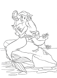 coloring pages mermaid 3792