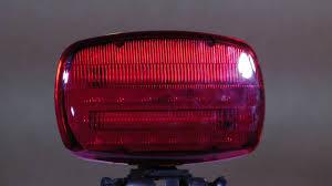 magnetic base strobe light led strobe light battery powered with adjustable locking magnetic