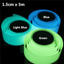 Glow In The Dark Home Decor 5mx15mm Luminous Tape Self Adhesive Green Blue Glowing In The Dark