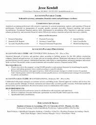 resume templates for accounts payable and receivable training cost accounting resume accountant resume exle professional