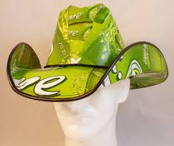 bud light beer box hat beer box cowboy hats made from recycled bud light lime beer boxes