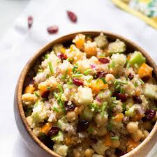 thanksgiving quinoa recipes cranberry apple quinoa salad primavera kitchen