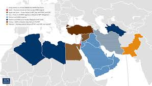 Middle East World Map by Maps Ilpi Weapons Of Mass Destruction Project