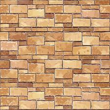 bloc de pierre pour mur pierre mur de brique sans soudure de fond vector illustration