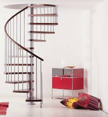 make your staircase design more attractive and useful for small space