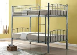 Wood And Metal Bunk Beds Wrought Iron Bunk Bed Image Of Metal Bunk Bed