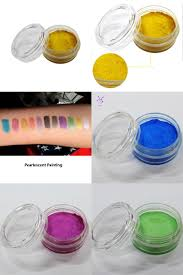 visit to buy 1pcs 10g 10 colors pearl face body paint halloween