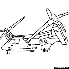 helicopter military chopper coloring pages 1