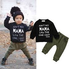 2pcs baby toddler boy clothes set t shirt tops