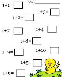 picture addition worksheets kids math worksheet ukg for workshhets
