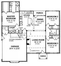 Split Floor Plan 655824 Charming 3 Bedroom 2 Bath Cottage With Split Floor Plan
