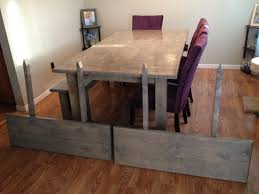 Ana White Farmhouse Bench Ana White Farmhouse Table Table Extension And Bench Diy Projects