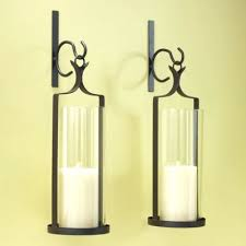 Wall Candle Holders Sconces Sconce Artisan Pillar Candle Wall Sconce Decor Pillar Candle