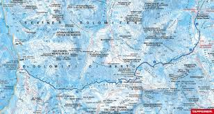 Tre Map Ski Tour Through The Rienz Valley To The Three Peaks Berghotel