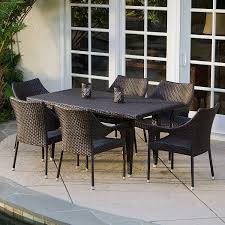 Dining Room 7 Piece Sets Patio Amusing Home Depot Outdoor Dining Table Home Depot Outdoor
