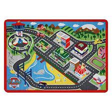 Paw Patrol Room Decor Nickelodeon Paw Patrol Adventure Bay Game Rug Kmart 25 Boys