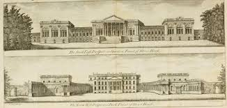 wanstead house iii essex proposed design by colen campbell as