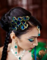 indian bridal hairstyle wedding hairstyles braids