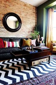 Accent Wall Patterns by Colorful Eclectic Living Room Full Of Global Accents Suzann