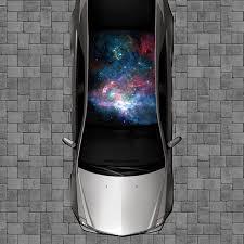 galaxy car wrap amazon com r111 galaxy roof wrap decal decals wraps vinyl wraps