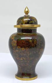 Antique China Vases Vintage Chinese Cloisonne Ginger Jar 5 5 Inches Tall Antique