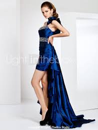 ts couture cocktail party formal evening dress high low