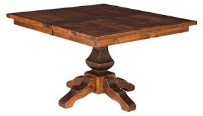 Square Dining Room Table by Lincoln Square Dining Table Amish Furniture Factory Amish