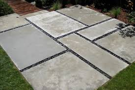 Concrete Slabs For Backyard by 2 Modern Landscape San Francisco By Shambhala Landscape