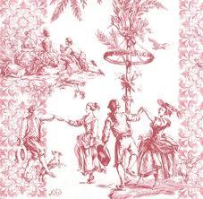 serviette en papier vintage serviette en papier toile de jouy passioncreationcollection