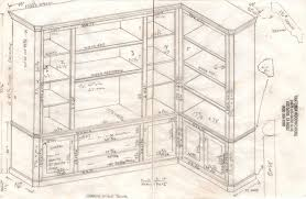 Woodworking Plans Bookshelves by Woodworking Plans Bookshelf Blueprint Plans Pdf Plans Blueprints