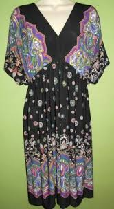 Shabby Chic Plus Size Clothing by Blueberry Printed Dress Dresses My Size Plus Sized Women U0027s