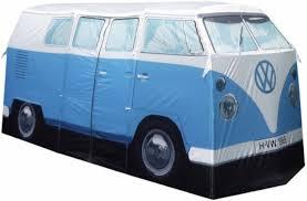 van volkswagen hippie amazon com vw volkswagen t1 camper van camping tent blue