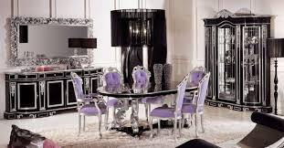 Silver Dining Room Black And Silver Dining Room Set New Decoration Ideas Architecture